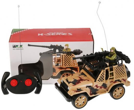 Военный автомобиль на радиоуправлении Shantou B1710609 цвет в ассортименте от 6 лет пластик, металл автомобиль balbi автомобиль черный от 5 лет пластик металл rcs 2401 a