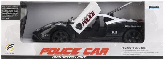 Машинка на радиоуправлении Shantou QF001S черно-белый от 6 лет пластик, металл машинка на радиоуправлении sdl перевертыш от 7 лет белый пластик 1110658
