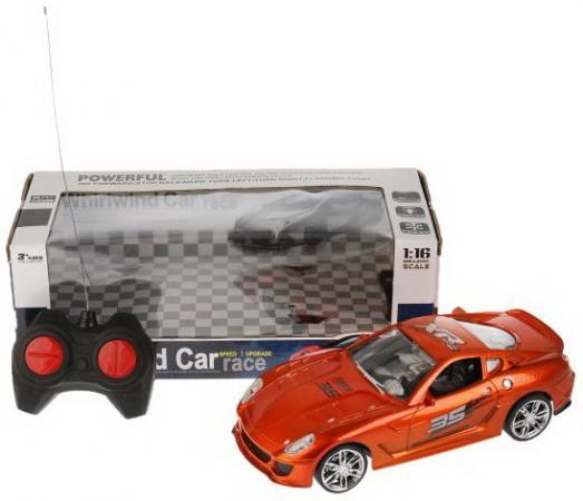Машинка на радиоуправлении Shantou B1657199 цвет в ассортименте от 3 лет пластик