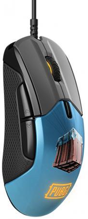 Мышь Steelseries Rival 310 PUBG Edition рисунок оптическая (12000dpi) USB игровая (5but) мышь steelseries sensei 310 62432