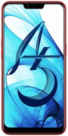 Смартфон Oppo A5 красный 6.2 32 Гб LTE Wi-Fi GPS 3G Bluetooth CPH1809 смартфон sony xperia xz1 dual черный 5 2 64 гб nfc lte wi fi gps 3g g8342blk