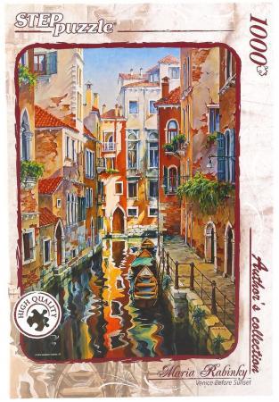 Пазл 1000 элементов СТЕППАЗЛ Солнечная аллея в Венеции puzzle 1000 канал в венеции мгк1000 6494