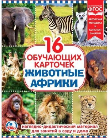Карточки в папке Умка Животные Африки все цены