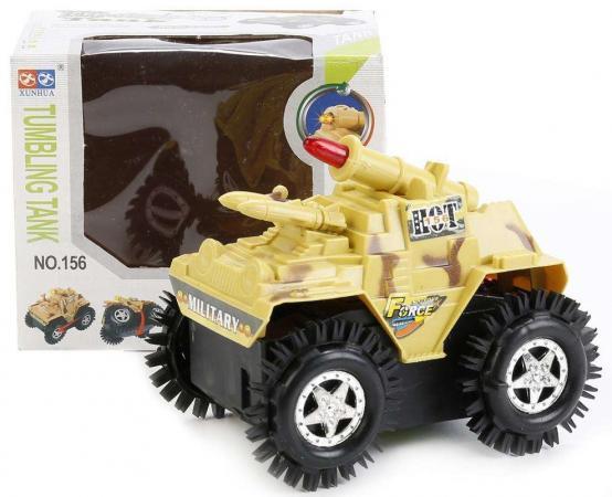 Танк Shantou Gepai Танк-перевертыш A1155 11.5 см камуфляж игрушка shantou gepai машина перевертыш 666 858