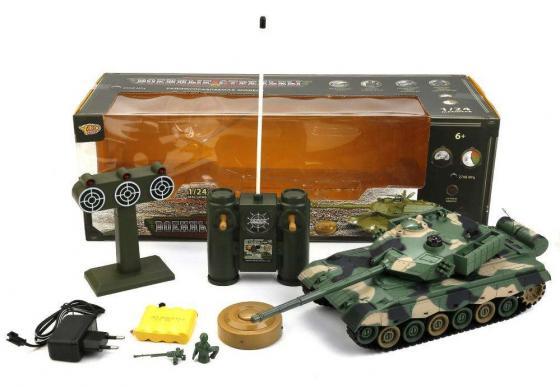 Танк на радиоуправлении YAKO YT6103-8 камуфляж от 6 лет пластик yako yako детская машинка на радиоуправлении авто таран