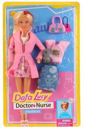 Кукла DEFA LUCY Доктор-няня 32 см