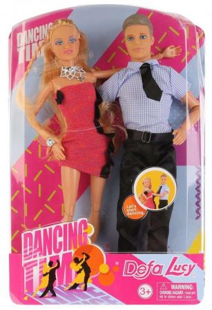Набор кукол DEFA LUCY Набор из 2-х кукол (муж+жена) 33 см шарнирная defa lucy набор из 2 х кукол в зоопарке 11 см 14 см defa lucy