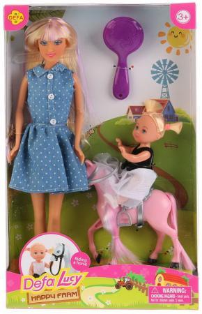 Набор кукол DEFA LUCY 8399-DEFA defa lucy набор из 2 х кукол в зоопарке 11 см 14 см defa lucy