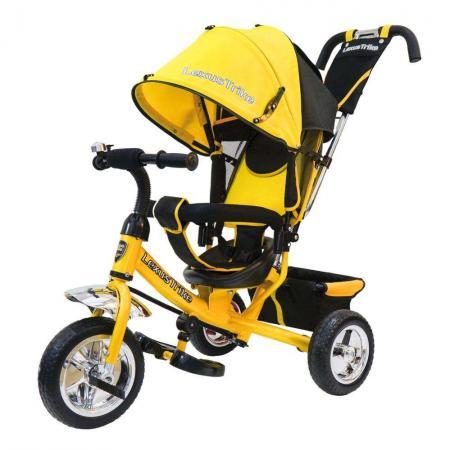 Велосипед трехколёсный Lexus Trike ВЕЛОСИПЕД 3КОЛ. EVA 10И8 10/8 желтый
