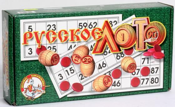 Настольная игра развивающая Тридевятое царство Русское лото настольная игра тридевятое царство развивающая школа дошколят