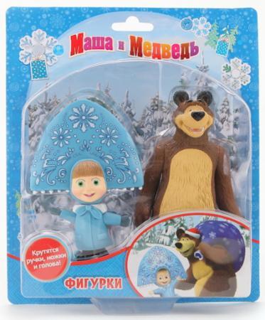 Купить Набор фигурок Играем вместе Медведь и Маша-снегурочка 12 см, ИГРАЕМ ВМЕСТЕ, Детские фигурки