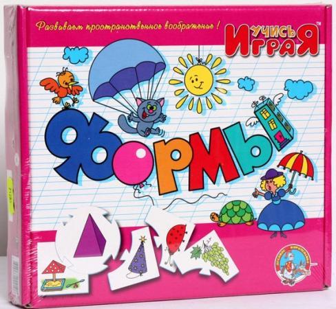 Настольная игра развивающая Тридевятое царство ФОРМЫ настольная игра тридевятое царство развивающая школа дошколят