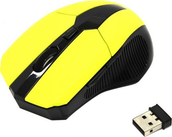 лучшая цена Мышь CM-547 Yellow, оптика,800/1600/2400dpi,5кн.+колесо прокрутки, USB