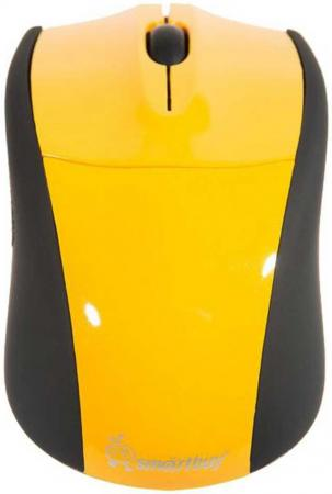 Мышь проводная Smartbuy 325 желтая [SBM-325-Y] smartbuy sbm 708g wk white black проводная игровая мышь
