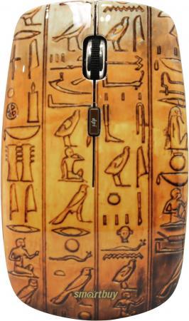 Мышь беспроводная Smartbuy 327AG Egypt [SBM-327AG-EG-FC] мышь беспроводная smartbuy 327ag pig 3 [sbm 327ag p3 fc]