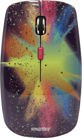 Мышь беспроводная Smartbuy 327AG Splash [SBM-327AG-SP-FC] мышь беспроводная smartbuy 327ag pig 3 [sbm 327ag p3 fc]