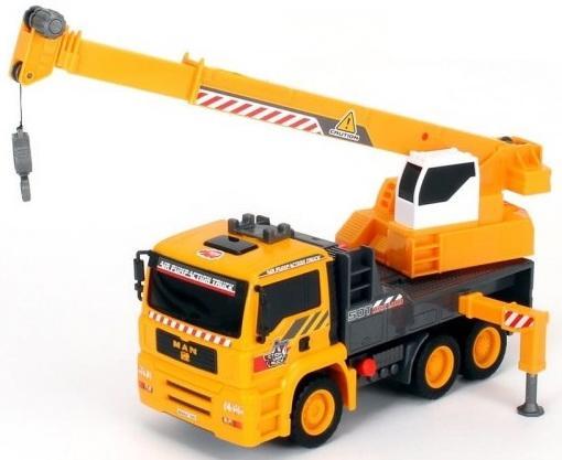 Кран Dickie AirPump 31 см разноцветный машинка игрушечная dickie самосвал man airpump