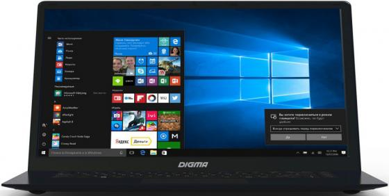 Ноутбук Digma CITI E602 15.6 1920x1080 Intel Celeron-N3350 32 Gb 2Gb Intel HD Graphics 500 черный Windows 10 Home ES6019EW