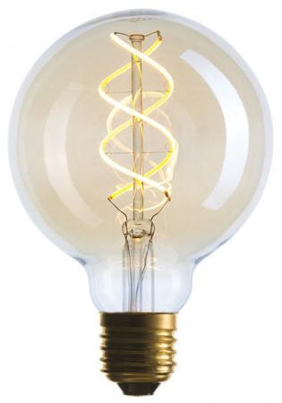 Лампа светодиодная шар Sun Lumen 056-939 E27 5W 2000K e27 5w 370 lumen 6000k 3528 smd led white light bulb 85 265v ac