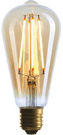 Лампа светодиодная прямосторонняя трубчатая Sun Lumen 057-080 E27 4W 2200K sun lumen лампа светодиодная sun lumen свеча золотая e14 4w 2200k 056 823