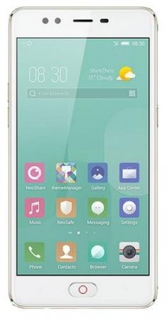 Смартфон ZTE Nubia M2 Lite золотистый 5.5 64 Гб LTE Wi-Fi GPS 3G Bluetooth смартфон zte nubia m2 lite 64 гб черный