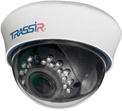 Фото - Видеокамера Trassir TR-D3113IR2 CMOS 1/3 2.8 мм 1280 x 960 H.264 RJ-45 PoE белый видеокамера
