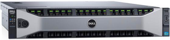 Сервер Dell PowerEdge R730XD 1xE5-2620v4 2x16Gb 2RRD x26 1x1.2Tb 10K 2.5 SAS H730 iD8En 5720 4P 2x750W 3Y PNBD 3PCIe riser (210-ADBC-172) сервер dell poweredge r730 2xe5 2620v4 16x32gb 2rrd x16 2x1 2tb 10k 2 5 sas rw h730 id8en 5720 4p 2