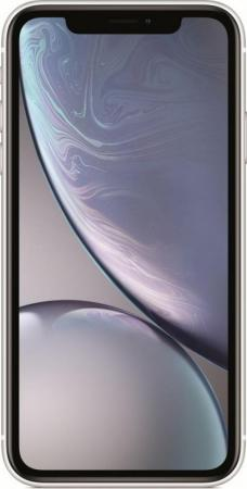 "Смартфон Apple iPhone XR белый 6.1"" 64 Гб NFC LTE Wi-Fi GPS 3G MRY52RU/A"