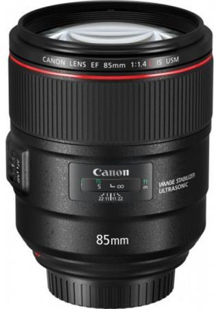 Объектив Canon EF IS USM (2271C005) 85мм f/1.4L