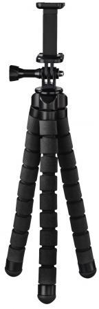 Штатив Hama Flex универсальный черный алюминиевый сплав (145гр.)