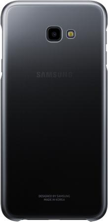 Чехол (клип-кейс) Samsung для Samsung Galaxy J4+ (2018) Gradation Cover черный (EF-AJ415CBEGRU)