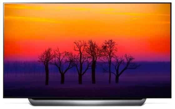 Телевизор OLED LG 78 OLED77C8PLA черный/Ultra HD/100Hz/DVB-T2/DVB-C/DVB-S2/USB/WiFi/Smart TV (RUS) oled телевизор lg 55eg9a7v