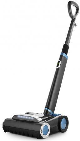 Вертикальный пылесос KITFORT КТ-539 сухая уборка чёрный голубой пылесос samsung v sc24jvnjgbj сухая уборка голубой чёрный