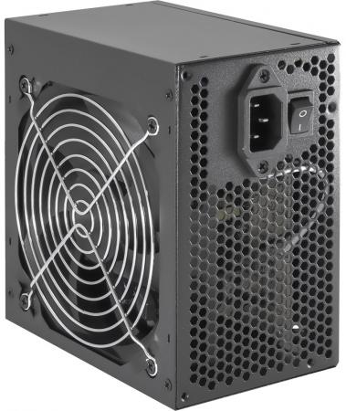 Б/питания SP QoRi 500W (500CG12 ) Black ATX, 12cm fan, 20+4pin +4Pin, 2*SATA, 1*FDD, 2*IDE RET pc computer 4pin fdd male to 5 port 15pin sata female adapter converter hard drive splitter power cable cord 18awg