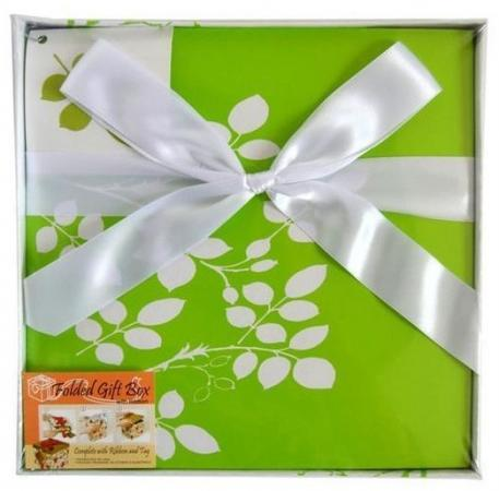 Коробка подарочная Golden Gift ЦВЕТОЧНЫЙ УЗОР 22х22х21 см universal festival holiday 26 english letter ballons golden