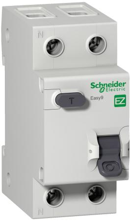 Schneider-electric EZ9D34610 ДИФ. АВТ. ВЫКЛ. EASY 9 1П+Н 10А 30мА C AC 4,5кА 230В =S=