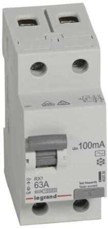 Legrand 402030 RX3 ВДТ 100мА 63А 2П AC