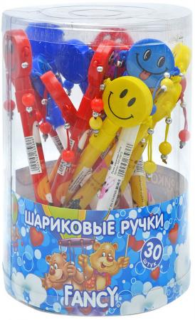 Ручка шариковая FANCY СМАЙЛ, пластиковый корпус, синие чернила шариковая ручка автоматическая action fancy разноцветный fbp201 10 8