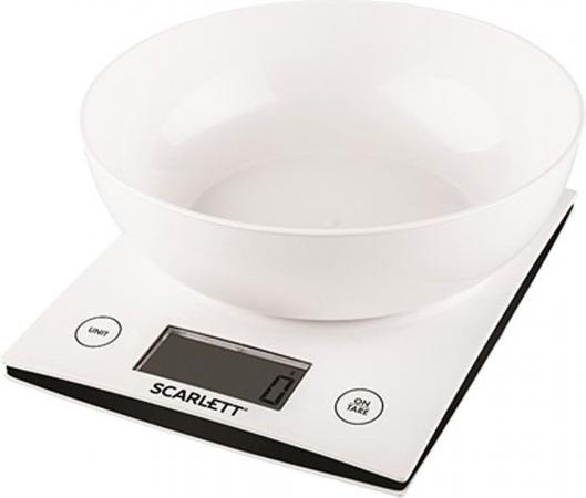 Весы кухонные Scarlett SC - KS57B10 белый кухонные весы scarlett sc ks57p38