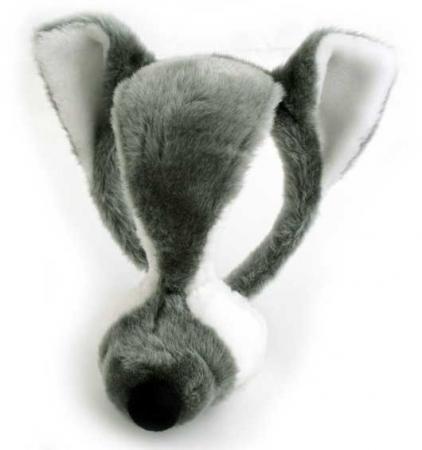 Карнавальные наушники-маска ВОЛК, озвученная, 17 см, в пакете|2