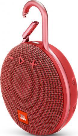 Динамик JBL Портативная акустическая система JBL CLIP 3, красный цена