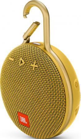 Динамик JBL Портативная акустическая система JBL CLIP 3, желтый портативная акустическая система jbl go 2 серый