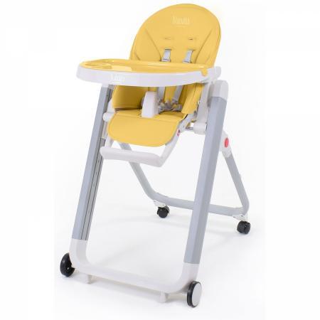 Стульчик для кормления Nuovita Futuro Senso Bianco (cosmo giallo) стульчик для кормления nuovita futuro bianco cosmo rosa