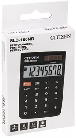 Калькулятор карманный BUSINESSLINE PRO, книжечка 8 разр, дв.питание, 88*58*10мм, черный, карт.уп