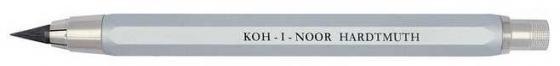 Карандаш цанговый, металлический корпус, с точилкой, серебристый|2 цена и фото