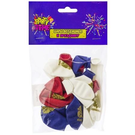 Купить Набор шаров Action! Россия 10 шт 25 см, Атрибуты для праздника