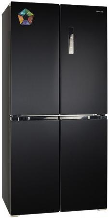 HIBERG RFQ-490DX NFB Холодильник холодильник hiberg rfs 450d nfb