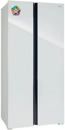 HIBERG RFS-480DX NFGW Холодильник холодильник hiberg rfs 490d nfgy