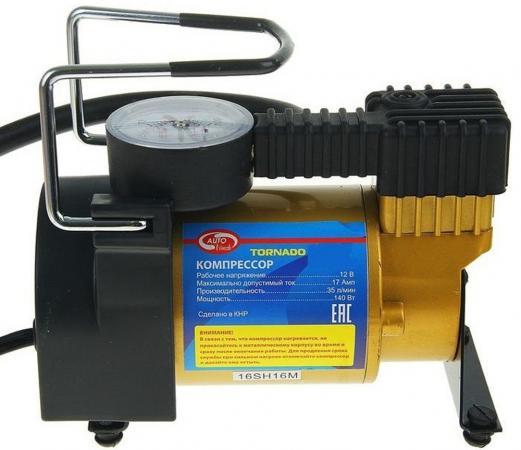 цена на Компрессор AUTOVIRAZH AV-010580 металл 35л/мин сумка