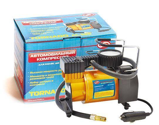 все цены на Компрессор AUTOVIRAZH TORNADO Standart AC-580 35л/мин онлайн